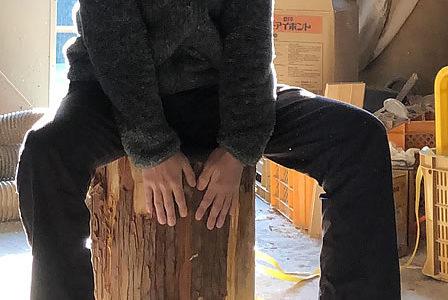 【大径木】スギの使い道その1-2→丸太くりぬき作業で問題発生
